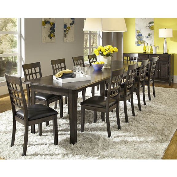 Simply Solid Corina 7 Piece Wood Dining Set