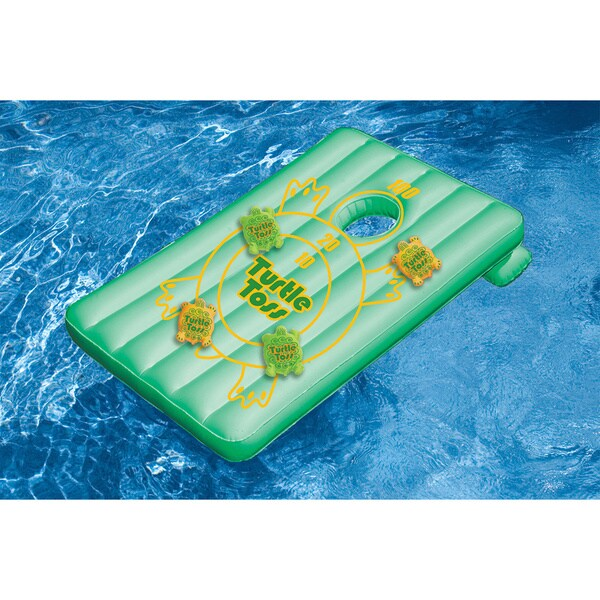 Swimline Inflatable Turtle Toss Pool Float