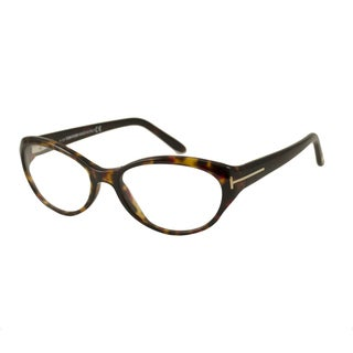 Tom Ford Women's TF5244 Rectangular Reading Glasses
