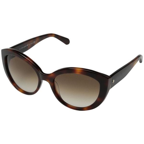 1b00e0319999 Shop Kate Spade Women's Sherrie Cat-Eye Sunglasses - Free Shipping ...