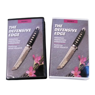 Ernie Franco Filipino Martial Arts Defensive Edge Knife Fighting Tactics 2-DVD Set