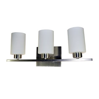 HomeSelects Dakota 3-light Vanity Light