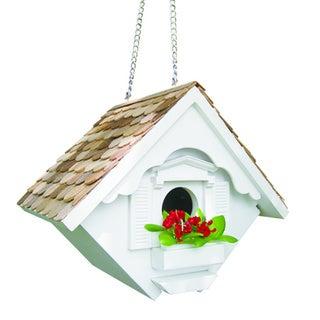 Little Wren White Bird House