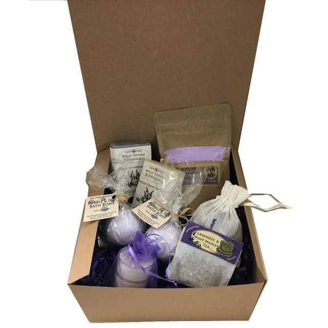Calming Lavender Spa Collection Gift Box