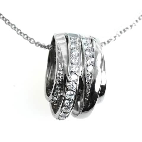 Valitutti Signity Silver Cubic Zirconia Pendant