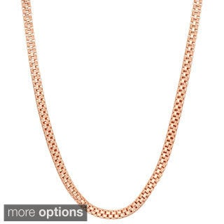 Gioelli Sterling Silver Popcorn Link Chain Necklace