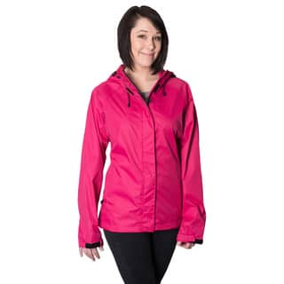 Mossi Pink Sprint Windbreaker Jacket (Option: Xl (16))|https://ak1.ostkcdn.com/images/products/10088888/P17231301.jpg?impolicy=medium