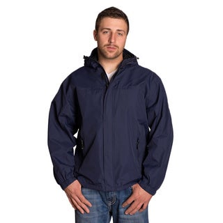Mossi Navy Blue Legacy Rain Jacket (Option: Xl)