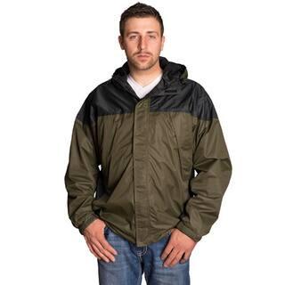 Mossi Black/ Green Excursion Rain Jacket|https://ak1.ostkcdn.com/images/products/10088913/P17231308.jpg?impolicy=medium