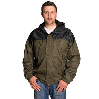 Mossi Black/ Green Excursion Rain Jacket