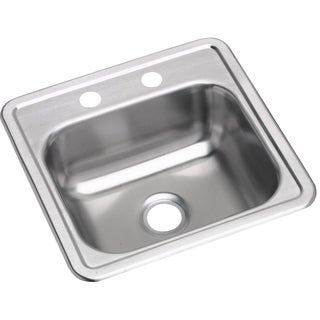Elkay Dayton Drop-in Stainless Steel D115161 Kitchen Sink