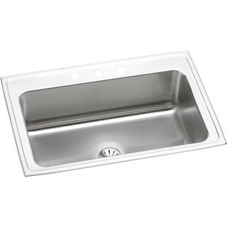 Elkay Gourmet Drop-in Stainless Steel DLRS332210PD1 Kitchen Sink