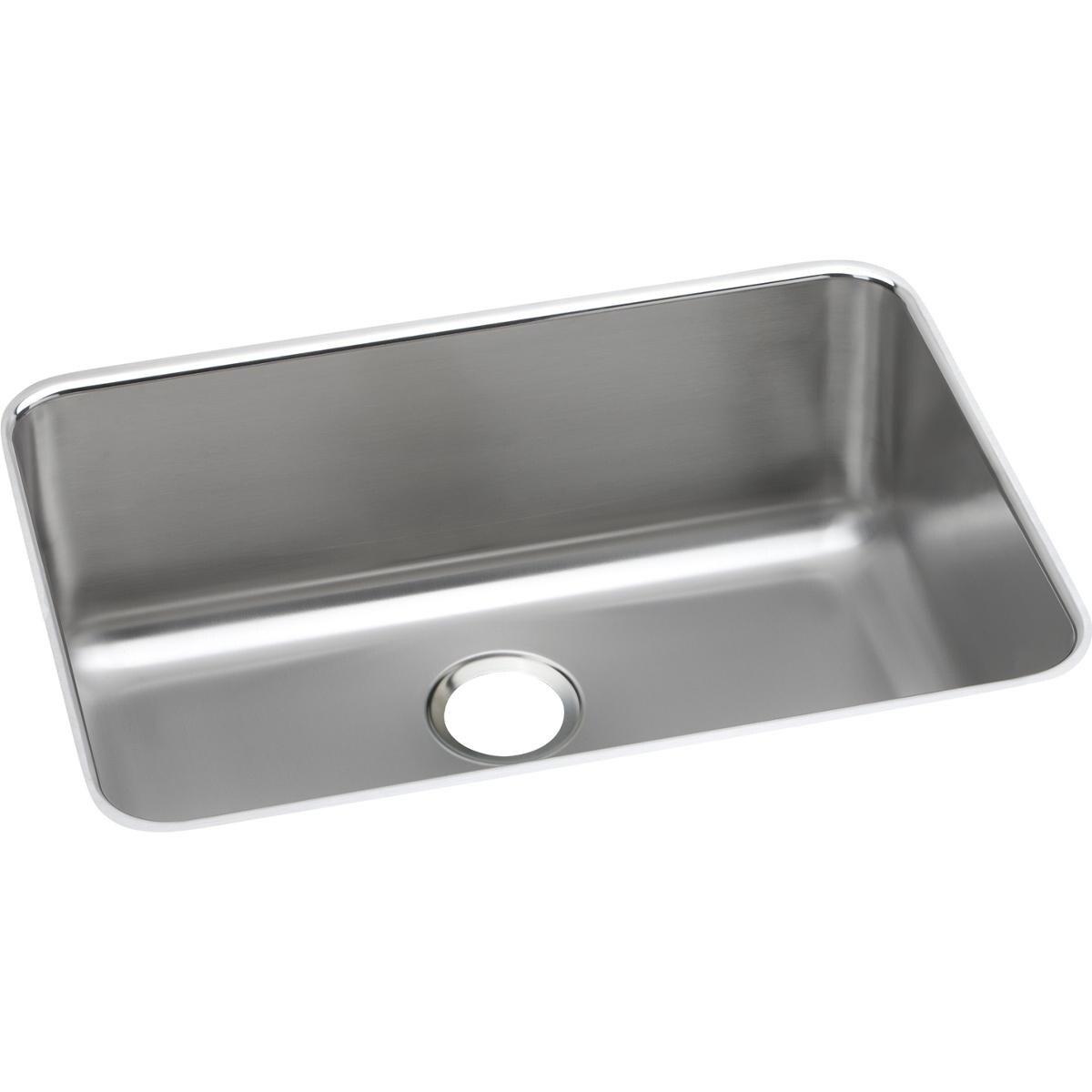 Elkay Gourmet Undermount Stainless Steel (Silver) ELUH241...