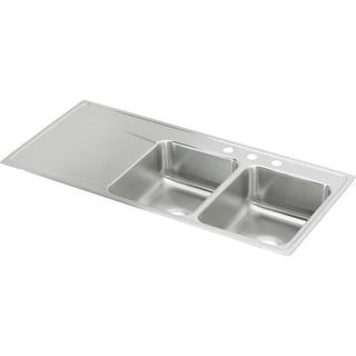 Elkay Gourmet Drop-in Stainless Steel ILR4822R4 Lustertone Kitchen Sink