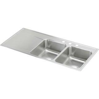 Elkay Gourmet Drop-in Stainless Steel ILR4822R4 Lustertone Kitchen Sink
