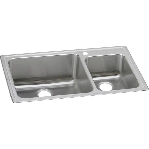 Elkay Gourmet Drop-in Stainless Steel LFGR37222 Lustertone Kitchen Sink