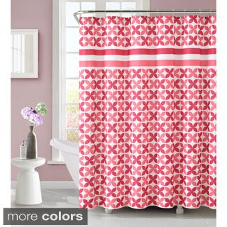VCNY Pinwheel 72-inch Polyester Shower Curtain