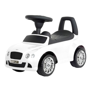 Best Ride On Cars Bentley Push Car Arctica White