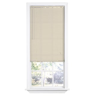 Premium Room Darkening Alabaster Mini Blinds with 1-inch Slats