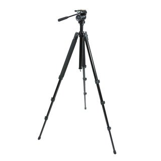 Celestron TrailSeeker Black Tripod Fluid Pan