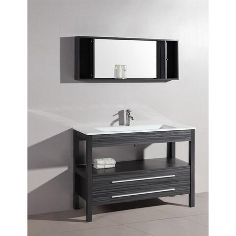 "48"" Bosconi A-5243 Contemporary Single Vanity"