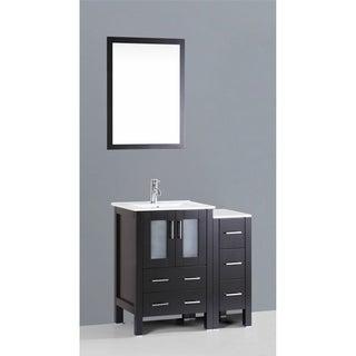 Bosconi AB124U1S 36-inch Single Black Vanity
