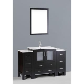 Bosconi AB130U2S 54-inch Single Black Vanity