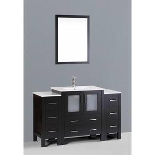 Inches Bathroom Vanities Vanity Cabinets For Less Overstock - 54 inch bathroom vanity single sink