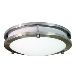 HomeSelects Saturn Integrated LED Flush Mount Light