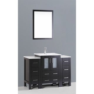 Bosconi AB124U2S 48-inch Single Black Vanity