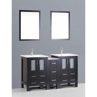 Bosconi AB224U1S 60-inch Double Vanity