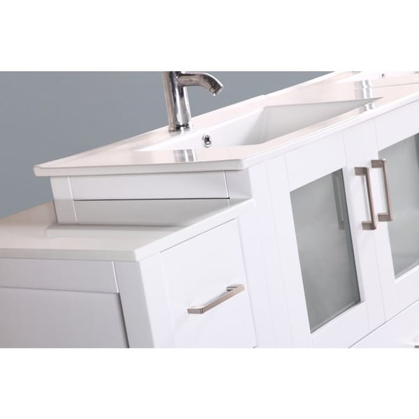 96 inch double vanity. Bosconi AB230U3S 96 Inch Double Vanity With Mirrors And Faucets Glamorous  Gallery Best inspiration home fruitesborras com 100 Images The