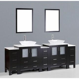 Bosconi AB230S3S 96-inch Double Vanity