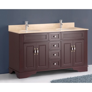 Bosconi A-5092B Classic 59-inch Double Vanity