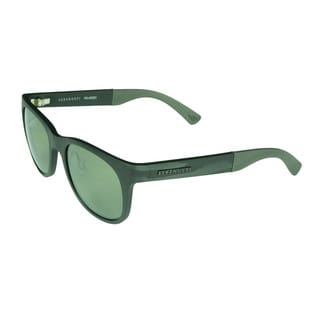 Serengeti Milano Metallic Stripe Frame Polarized Sunglasses