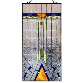 Tiffany-style Ayana 40-inch Window Panel