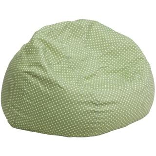 Oversized Dot Bean Bag Chair