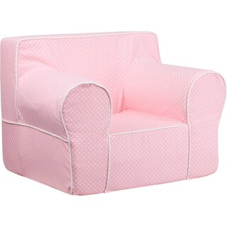 Oversized Dot Kids Chair with Piping