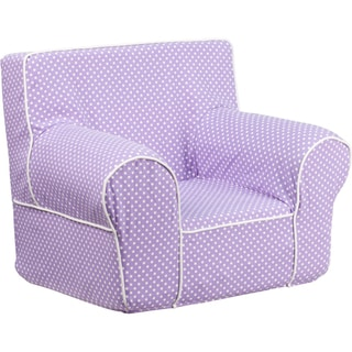 Small Dot Kids Chair with Piping