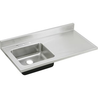 Elkay Gourmet Drop-in Stainless Steel S4819L4 Lustertone Kitchen Sink