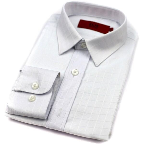 d5ea96118 Shop Elie Balleh Brand Boys' White Slim Fit Button-down Shirt - On ...