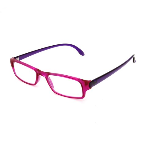 Hot Optix Women's Two-tone Rectangular Reading Glasses