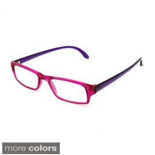 Hot Optix Women's Two-tone Rectangular Reading Glasses https://ak1.ostkcdn.com/images/products/10089577/P17231923.jpg?impolicy=medium