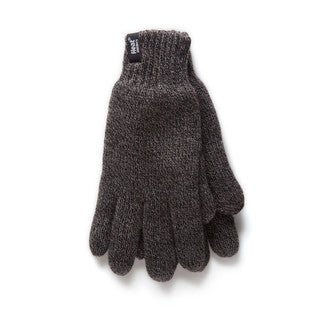 Heat Holder Men's Thermal Gloves (Option: Grey)