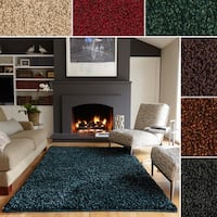 Hand-tufted Everett Shag Area Rug (5'0 x 7'6) - 5' x 7'6""