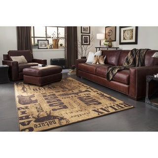 Mohawk Home Escape Rustic Escape Area Rug (7'6 x 10')