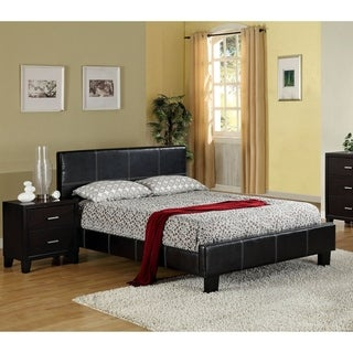 Furniture of America Wene Modern Stitched 2-piece Bedroom Set