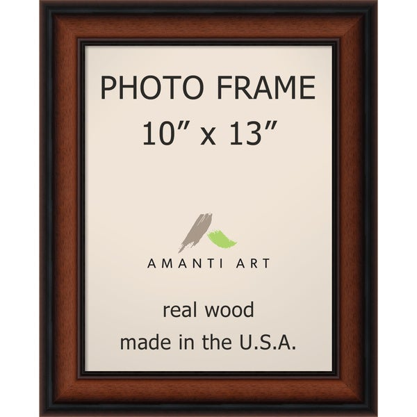 shop bella noce walnut photo frame 10x13 39 13 x 16 inch free shipping today. Black Bedroom Furniture Sets. Home Design Ideas
