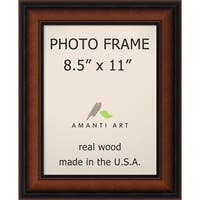 Bella Noce Walnut Photo Frame 8.5x11' 11 x 14-inch