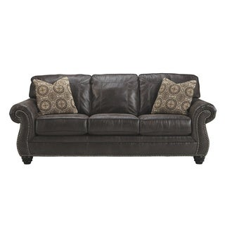 Signature Design by Ashley Breville Charcoal Queen Sofa Sleeper